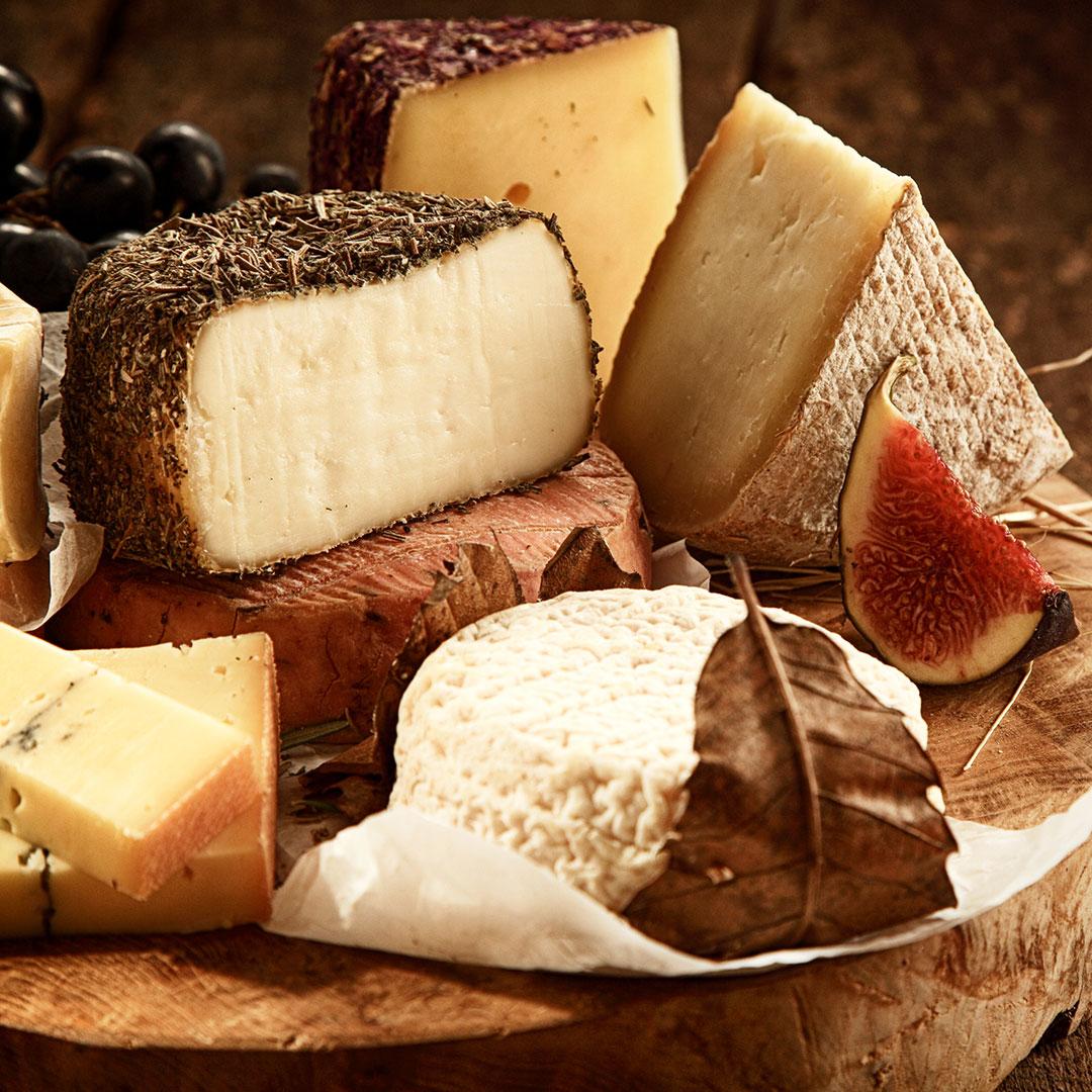 """Selezione di formaggi """"Vaghi""""."""